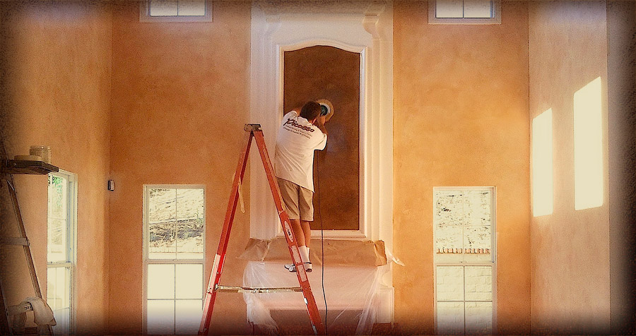 Picasso Faux Painting and Venetian Plastering
